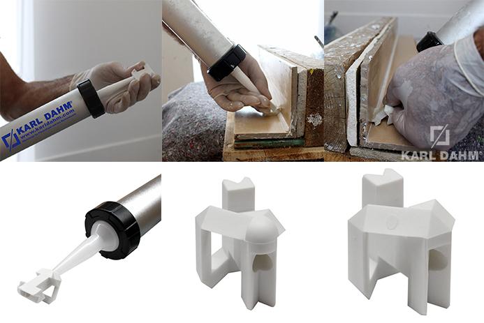 verfugen karl dahm fliesenwerkzeuge zum einfachen verfugen. Black Bedroom Furniture Sets. Home Design Ideas