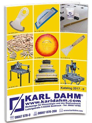 Karl Dahm Werkzeugkatalog 2017-II