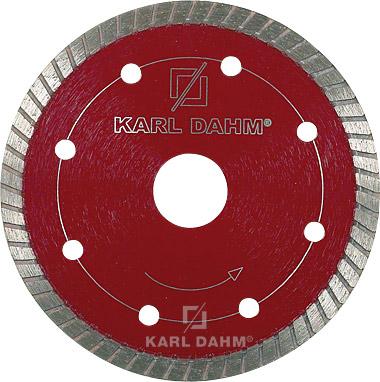 Diamant-Trennscheiben Turbo, DNS 8 von Karl Dahm. Optimal für dünne Granite, Natur- und Kunststein, Beton, u.v.m.