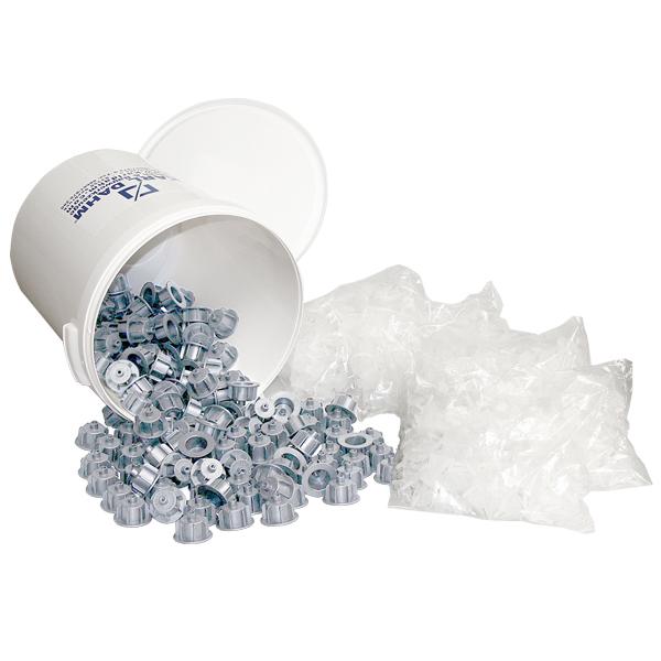 Maxi-Set grau Fliesen Nivelliersystem DAHM