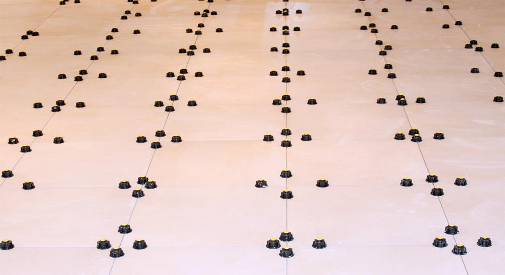 Fliesen-Nivelliersystem Verlegung