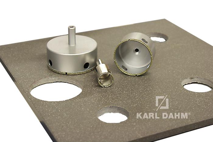 Diamantbohrkronen für den Akkubohrer oder die Bohrmaschine