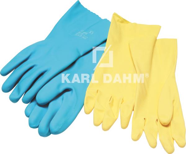 Art. 10740-10742 Gummi-Handschuhe (Farbe kann variieren)