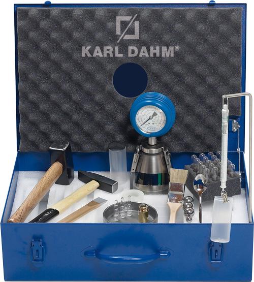 Feuchtemessung mit CM-Feuchtemessgerät | KARL DAHM
