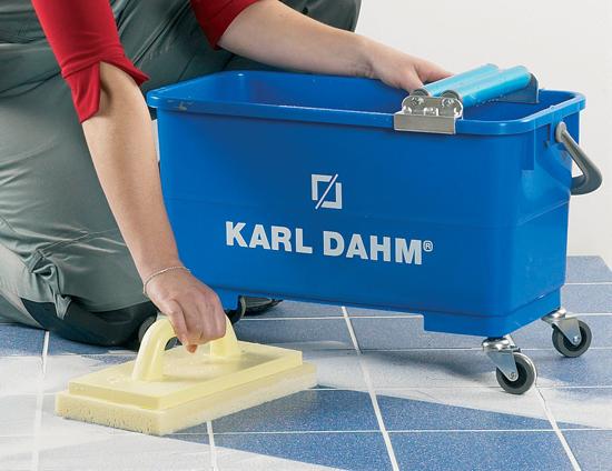 Anwendung Waschset KARL DAHM