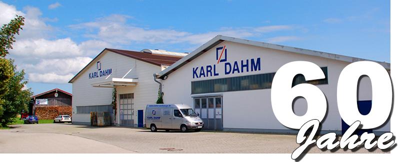 Firmengebäude KARL DAHM Fliesenlegerwerkzeuge