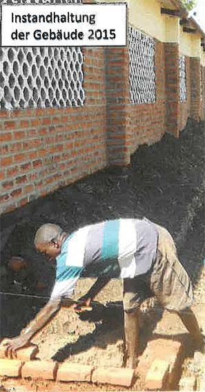 Reparaturen an den Schulgebäuden und deren Instandhaltung müssen auch in Zukunft unterstützt werden