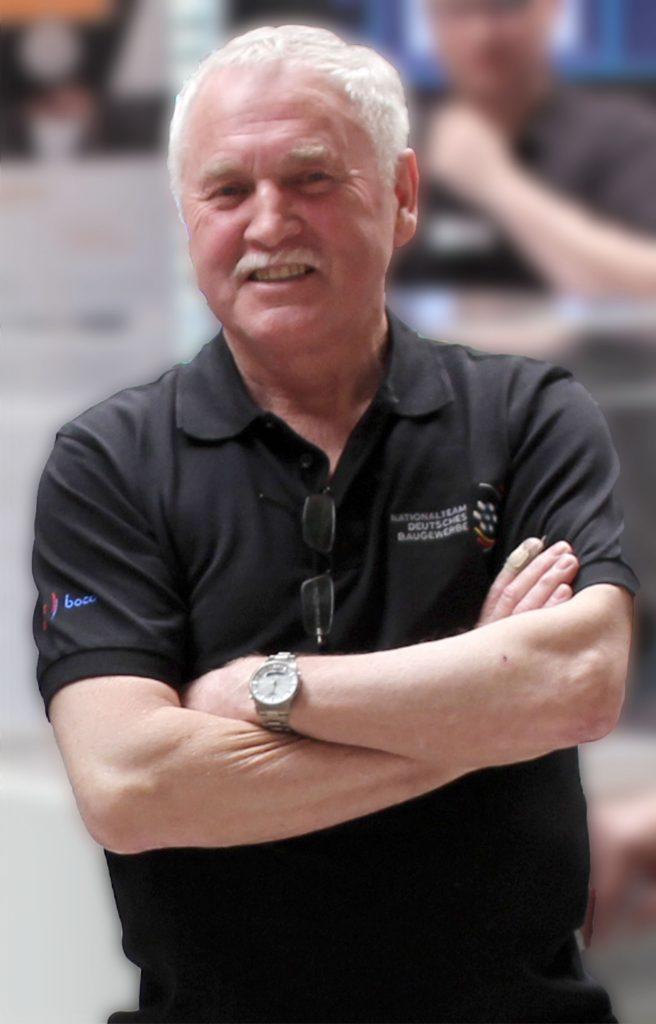 Günther Kropf Bundestrainer Fliesenleger