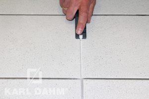Anwendung Fugenreiniger Diamant Karl Dahm Art. 16100