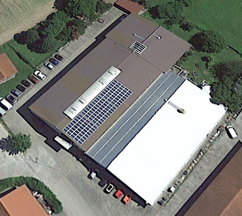 Nachhaltigkeit in Form der firmeneigenen Solaranlage