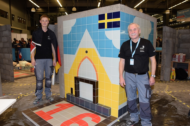 "EuroSkills 2016 - Die Aufgabe im Skill ""Wall and Floor Tiling"""