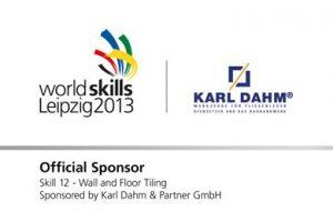Sponsoren-Logo WorldSkills 2013 Leipzig Karl Dahm