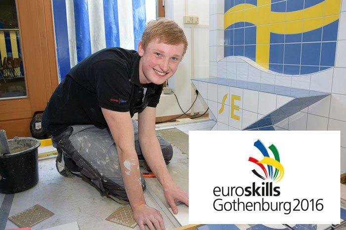 EuroSkills 2016 Tim Welberg bei Karl Dahm
