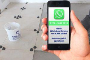 WhatsApp Service von Karl Dahm