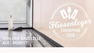 Fliesenleger Champion 2018 - der Wettbewerb