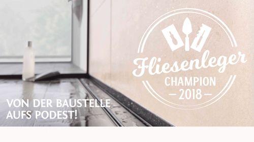 Fliesenleger Champion 2018 – Wettbewerb