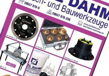 Katalog Karl Dahm Fliesenlegerwerkzeug