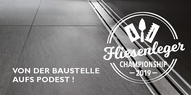 Fliesenleger Championship 2019 - von der Baustelle aufs Podest!