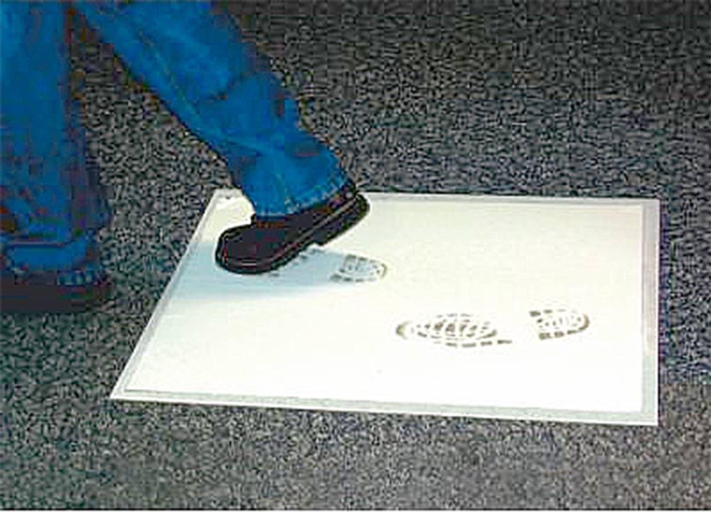 Staubschutzmatte mit Abziehfolien neu bei KARL DAHM