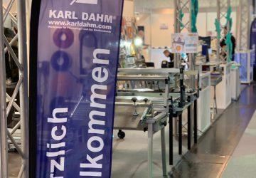 BAU Messe München - Willkommen am Stand von KARL DAHM