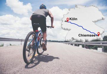 Sportwerker - mit dem Rad von Köln an den Chiemsee - KARL DAHM Handwerkertage