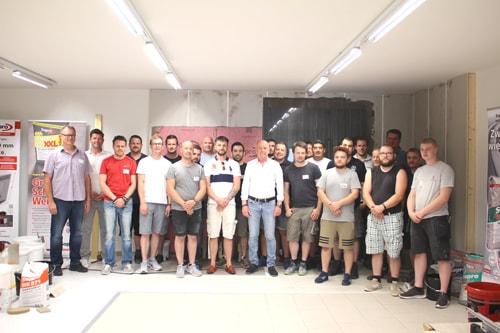 Großformat-Workshop der Firma Sopro bei KARL DAHM am Chiemsee