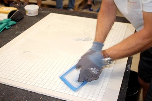 Sopro Bauchemie - Untergrundvorbereitung für Großformatverlegung