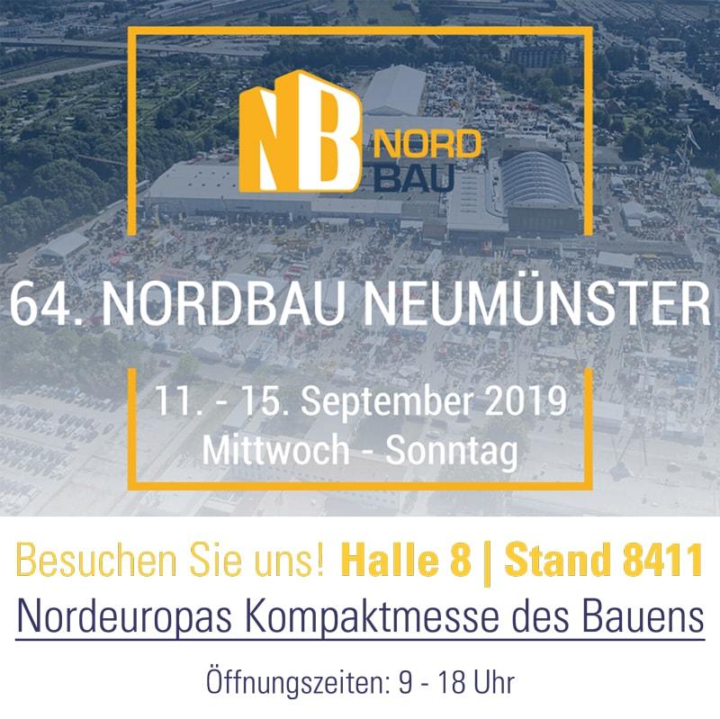 Besuchen Sie uns auf der Nordbau in Neumünster | Halle 8, Stand 8411 - KARL DAHM Werkzeuge