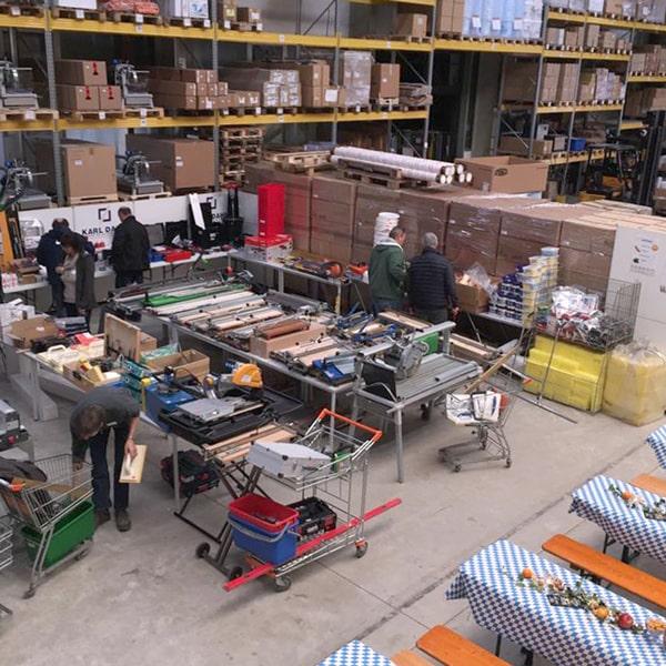 Karl Dahm Sonderverkaufstag 2019 - Messehalle