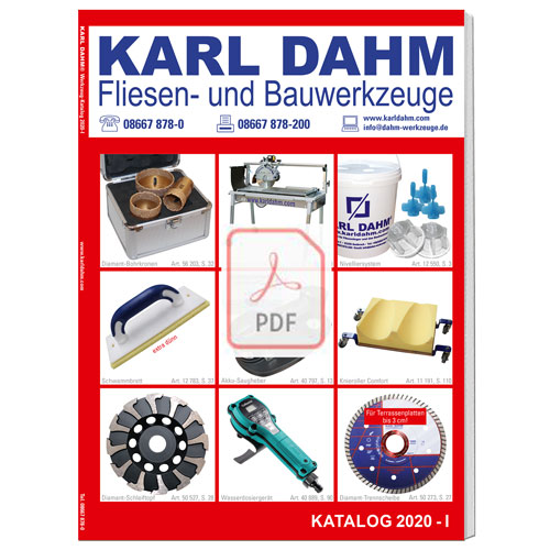 Karl Dahm Katalog PDF Download 2020-I