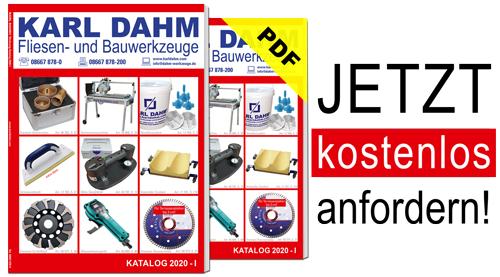 Werkzeugkatalog Karl Dahm kostenlos anfordern - per Post oder PDF
