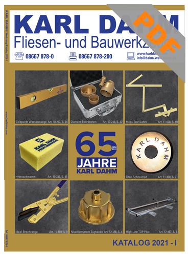 PDF Katalog Karl Dahm Werkzeuge 2021-I