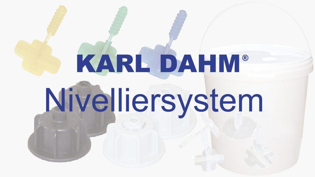 Nivelliersystem von KARL DAHM