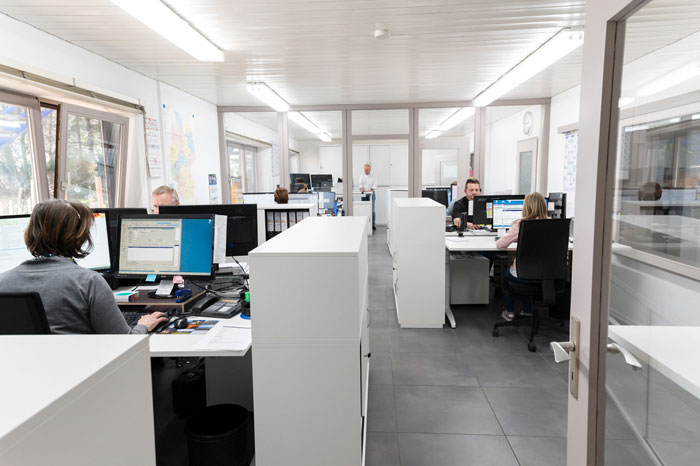 Umbau der Büroräume Firma Karl Dahm und Partner GmbH 2018